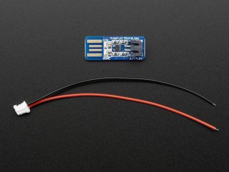 Adafruit Micro Lipo - USB LiIon/LiPoly charger