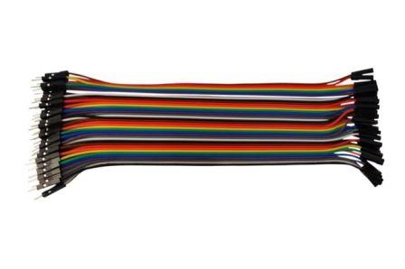 Jumper draadjes Female-Male 200mm 40 Aders