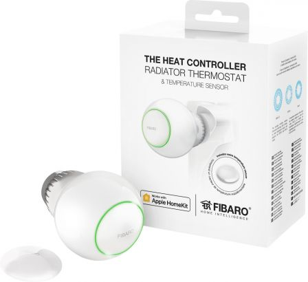 Fibaro The Heat Controller Starter Pack voor Apple HomeKit