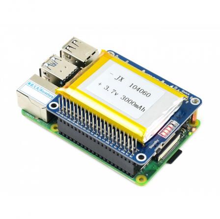 Li-Polymer Batterij HAT 5V Output