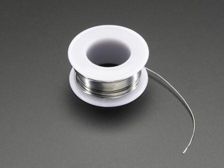 Solder Wire - 60/40 Rosin Core - 0.5mm/0.02' diameter - 50 grams