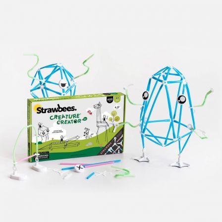 Strawbees Creature Creator Kit English