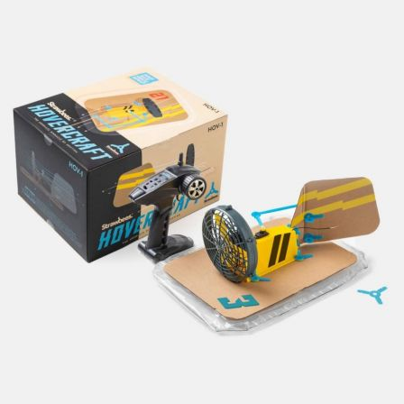 Strawbees Hovercraft Kit