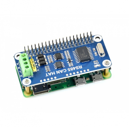 RS485 CAN HAT voor Raspberry Pi