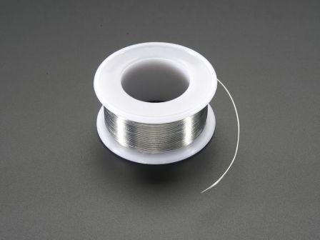 Solder Wire - RoHS Lead Free - 0.5mm/.02' diameter