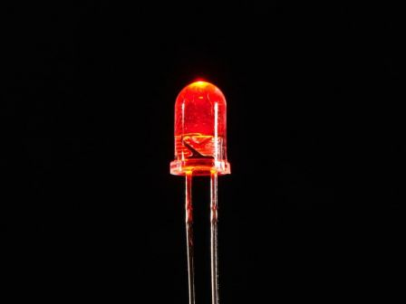Super Bright Red 5mm LED (25 pack)