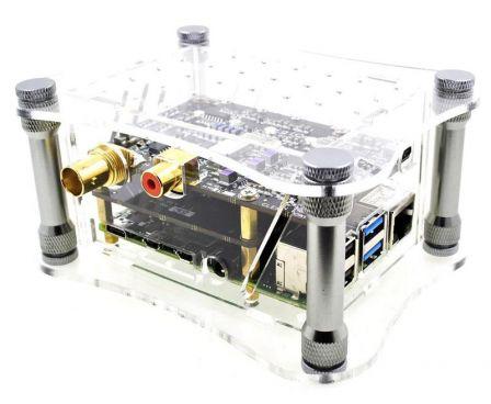 ALLO Behuizing voor ALLO DigiOne Signature met Raspberry Pi 4 - Transparant