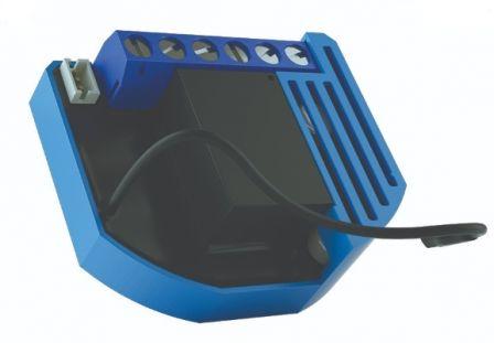 Qubino Flush 2 Relay met Energie Meter (2*0.9 kW)