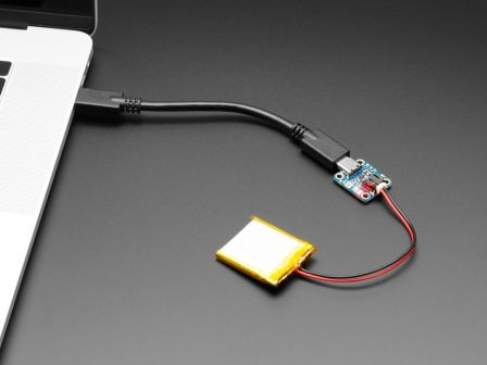 Adafruit Micro-Lipo Charger for LiPoly Batt with USB Type C Jack