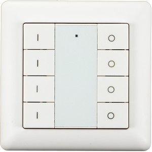 Heatit Z-Push Button 8 - Wit