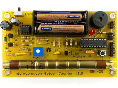 Geiger Counter Kit - Radiation Sensor