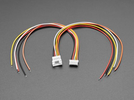 2.0mm Pitch 5-pin Cable Matching Pair - JST PH Compatible