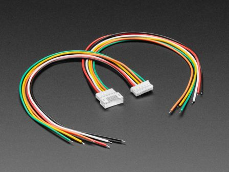 2.0mm Pitch 6-pin Cable Matching Pair - JST PH Compatible