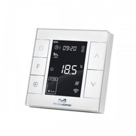 MCO Home Elektrische Verwarmings Thermostaat met Vochtigheidssensor - Wit