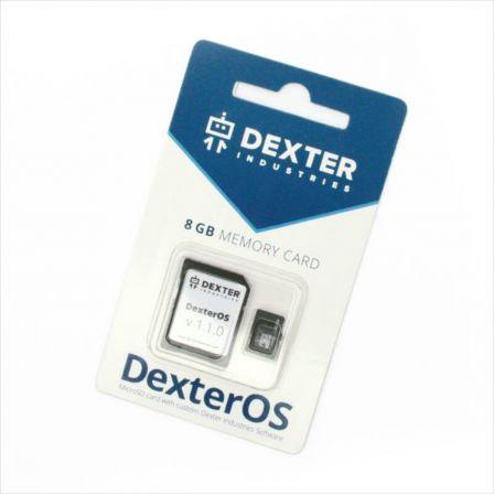 DexterOS 8GB Micro SD Kaart