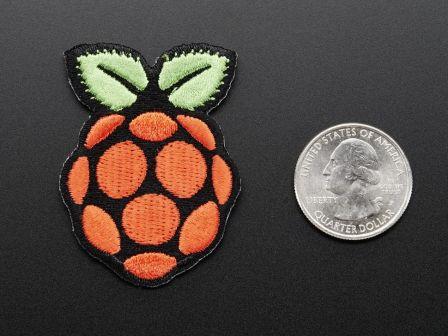 Raspberry Pi - Skill badge, iron-on patch