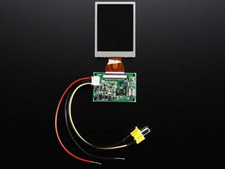 NTSC/PAL (Television) TFT Display - 2.5' Diagonal