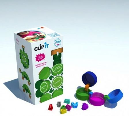 Clip-it 3D 400 stuks