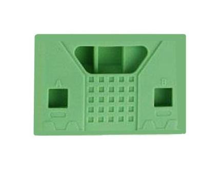 Siliconen Behuizing voor Micro:Bit V2 - Vierkant Groen
