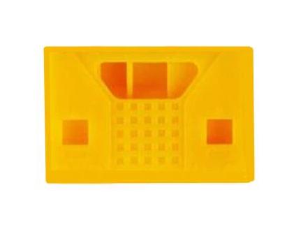 Siliconen Behuizing voor Micro:Bit V2 - Vierkant Oranje