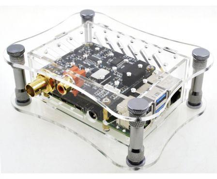 ALLO Behuizing voor ALLO DigiOne met Raspberry Pi 4 - Transparant