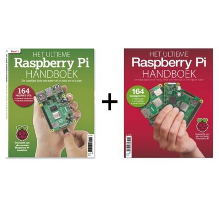 -ACTIE- Het Ultieme Raspberry Pi Handboek 2019 + Raspberry Pi Handboek 2020