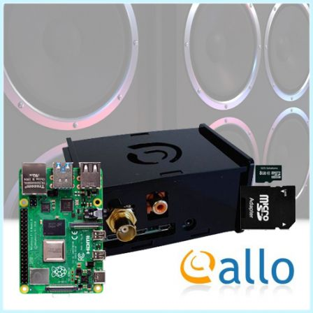 ALLO DigiOne Audio Kit met Raspberry PI 4B
