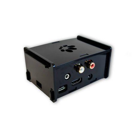 HifiBerry DAC2 Pro Behuizing voor Raspberry PI 3 - Zwart