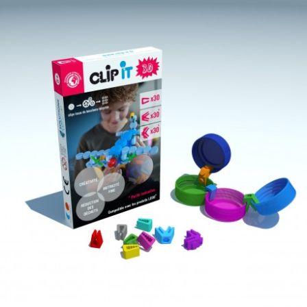Clip-it 3D 90 stuks