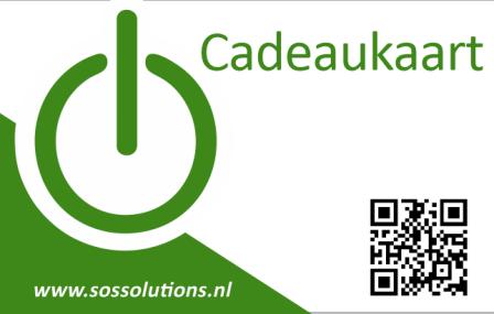 Cadeaukaart € 30,- SOS Solutions