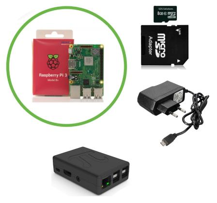 Domoticz Starter Kit met Raspberry Pi 3B