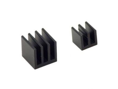 Koelblokjes 2-delig - Zwart