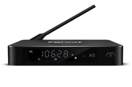 Egreat A5 4K Ultra HD HDR TV Box