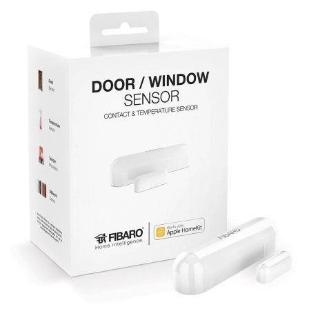 Fibaro Deur/Raam Sensor voor Apple Homekit - Wit