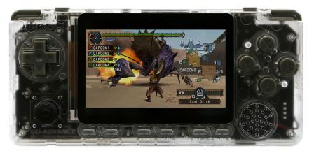ODROID-GO Advance Edition - Zwart / Transparant