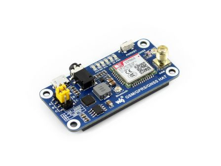 Waveshare GSM / GPRS / GNSS / Bluetooth HAT Voor Raspberry Pi