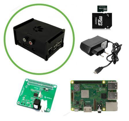 Hifiberry Audio Kit met Raspberry Pi 3B+