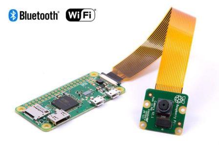 Raspberry Pi Zero W Camera Pakket