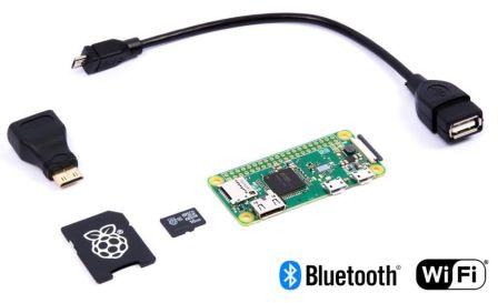 Raspberry Pi Zero W Basis Pakket