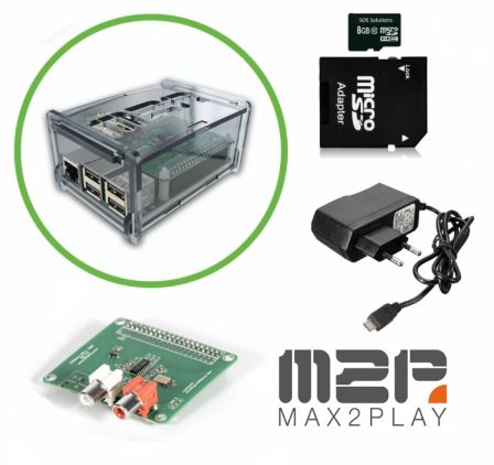Raspberry Pi 3B+ MAX2PLAY Kit