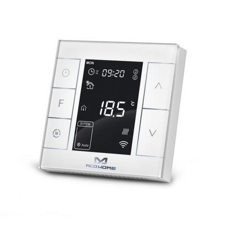 MCO Home Verwarmings Thermostaat met Vochtigheidssensor - Wit