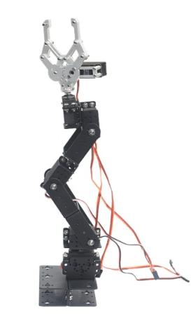 DOF Mechanische Robot Arm met 6 Servos