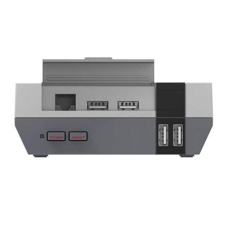 Behuizing voor Raspberry Pi 3, NES-design, grijs