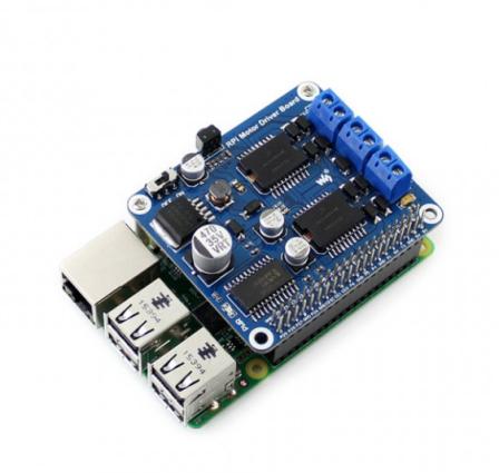 Motor Driver Board voor Raspberry Pi