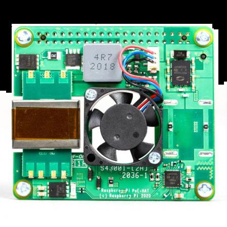 Raspberry Pi PoE+ HAT (5V DC / 4A) 2021