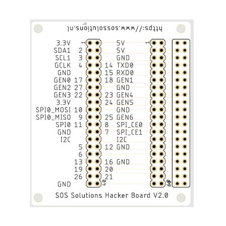 SOS Solutions Hacker Board V2.0