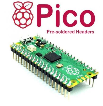Raspberry Pi Pico Met Headers
