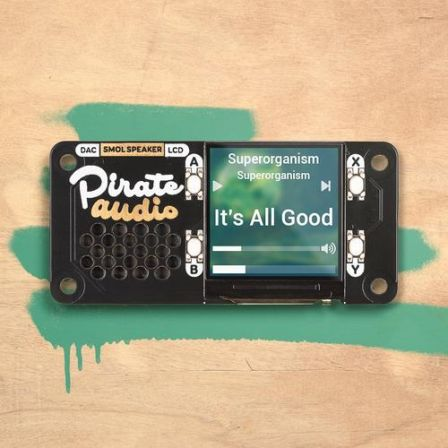 Pirate Audio: Speaker voor Raspberry Pi