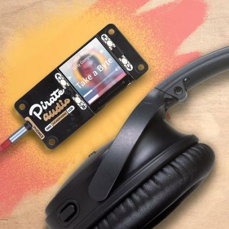 Pimoroni Pirate Audio: Headphone AMP voor Raspberry Pi