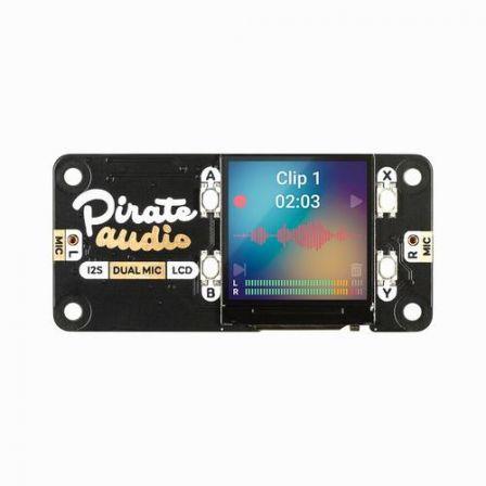 Pimoroni Pirate Audio: Dual Mic voor Raspberry Pi